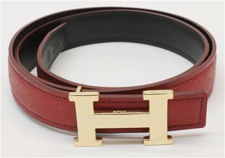 Hermes H Belt