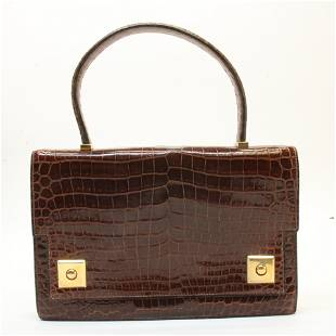 Hermes Porosus Crocodile Piano Bag