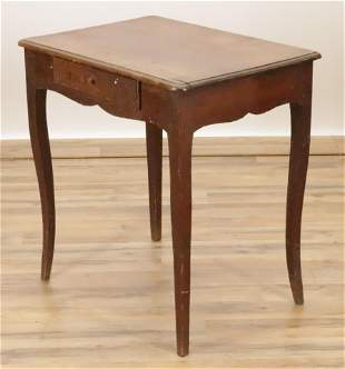 French Provincial Cherry Side Table