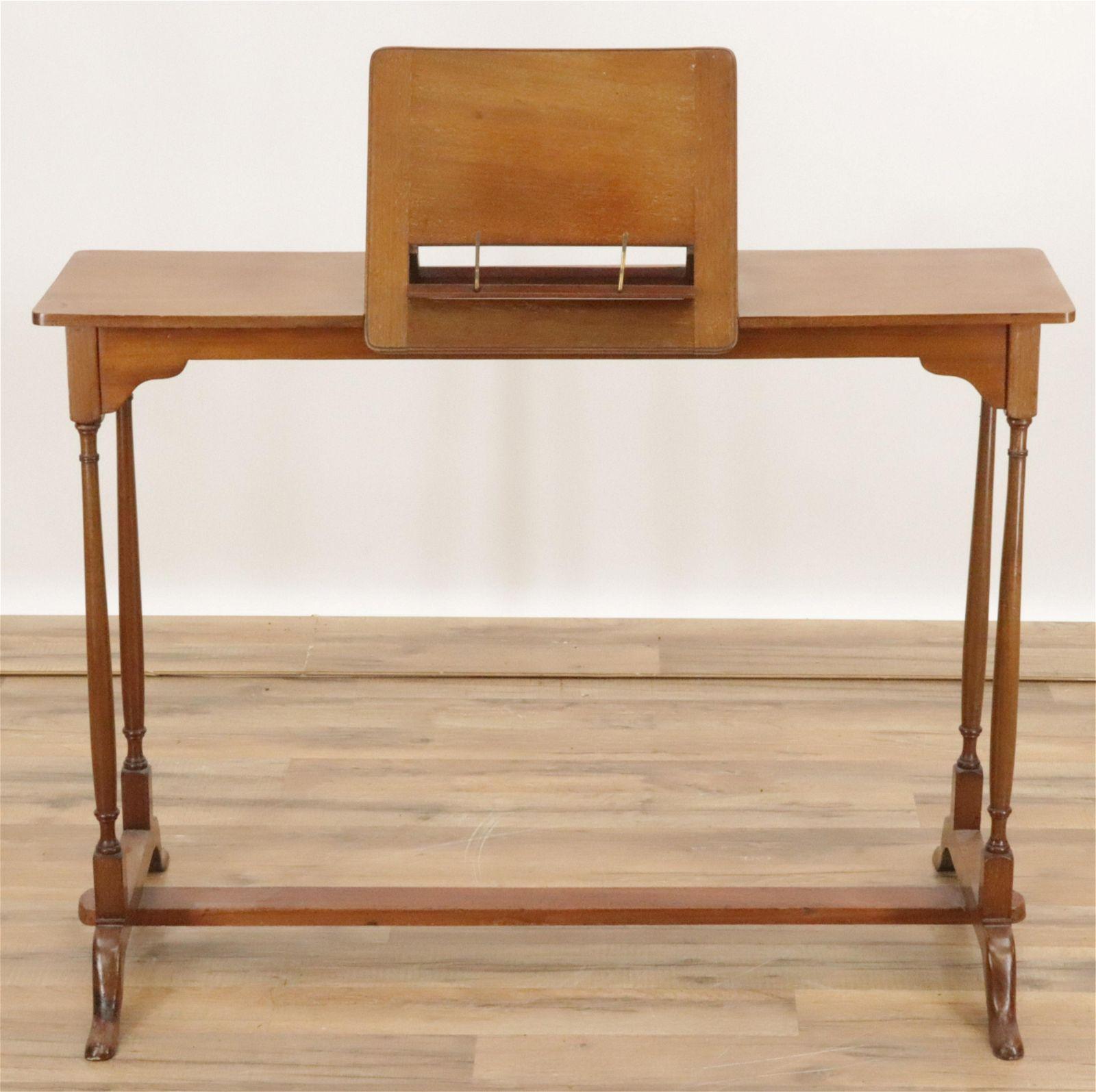 Small George III Style Mahogany Writing Table