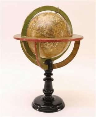 French Terrestrial Globe, Early 19th C, Delamarch
