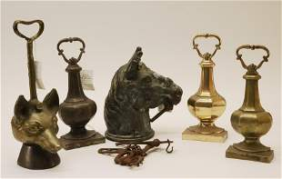 Equestrian Related Metal Objects