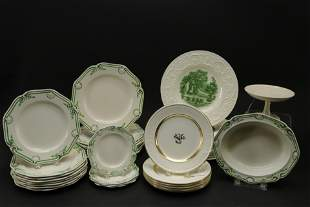 Wedgwood Partial Services & Serving Plates