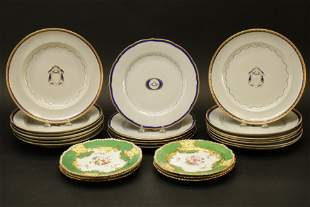 Chinese Export and English Porcelain Plates