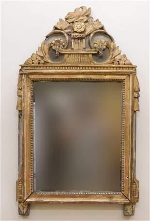 Louis XVI Giltwood Mirror, 18th C.