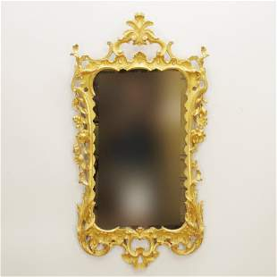 George III Giltwood Mirror, 18th C.