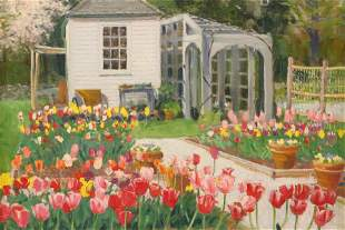 "Douglas Smith, ""The Cutting Gardens, Blithewold"""