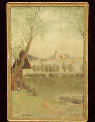 Julius W Schulein - In The Bavarian Alps