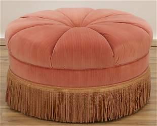 Swaim Furniture Round Ottoman