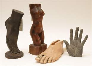 4 Figural Sculptures