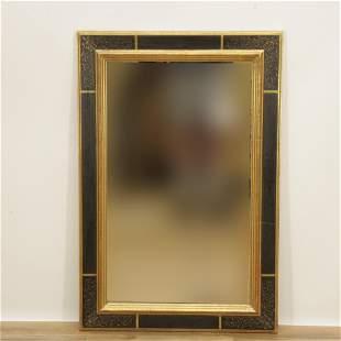 Florentine Style Parcel Gilt Painted Mirror