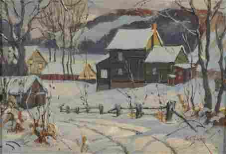 Walter Thomas Sacks - Rural Rochester Winter