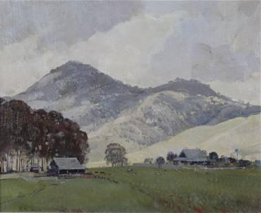 Herbert Reginald Gallop - View of Bells Hill