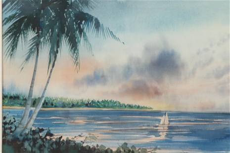 Guillermo Sureda, Tropical Paradise, W/C