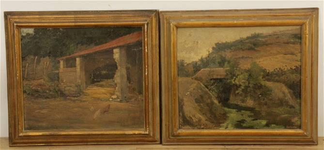 Zantardini - Pair of Landscapes
