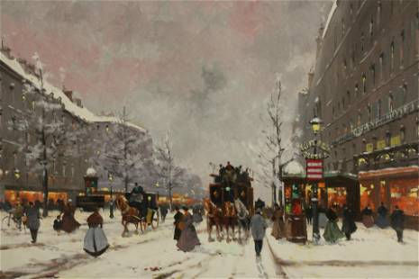 Henri Schaeffer - Snow in Paris