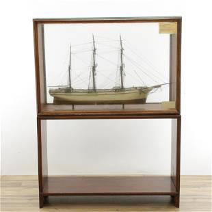 Ships Model of Penobscot - Bucksport Maine, 1878