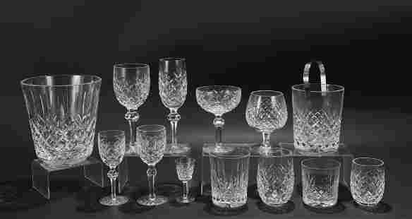 """Waterford """"Powers Court"""" Crystal Stemware"""