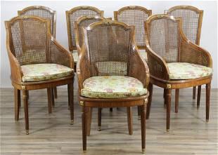8 Juan Pons Louis XVI Style Dining Chairs