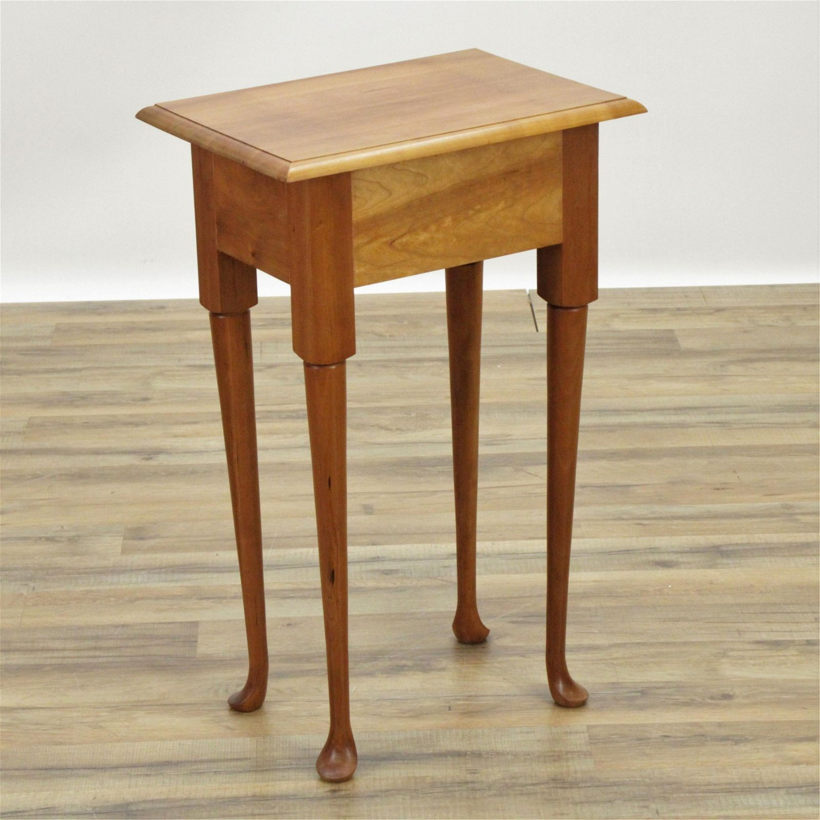 Queen Anne Style Cherry Side Table