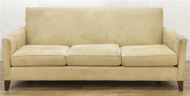 Mitchell Gold + Bob Williams Ultrasuede Sofa