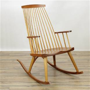 Thomas Moser Cherry Rocking Chair