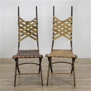 Pair of Alberto Marconetti Side Chairs