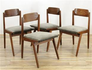 4 Jan Kuypers Imperial Midcentury Dining Chairs