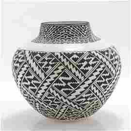 J.F. Aragon - Acoma Pottery Jar
