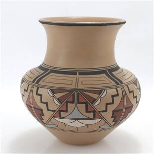 Joe & Thelma Talachy - Pojoaque Pueblo Pottery Jar