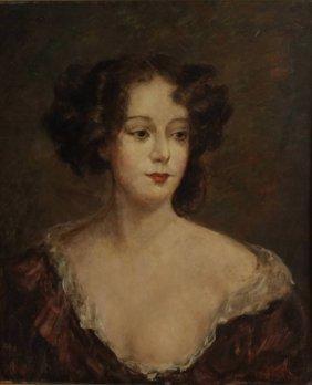 Marie Weger, 1882-1980, Portrait of Nell Gwyn
