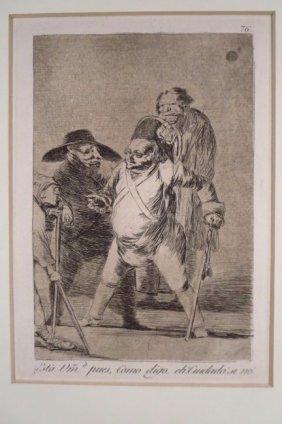 "Francisco Goya, 1746-1828, ""Esta Vuestra merced,"" 1799"