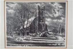 Walter Dubois Richards, b. 1907, Three Prints