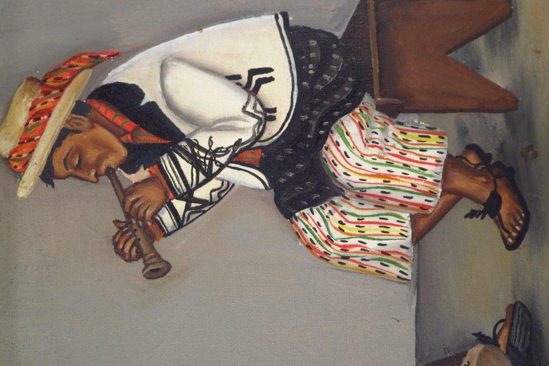 Juan Sisay, Guatemalan, 2 paintings, o/c (2 pcs.) - 6
