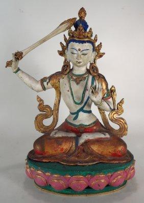 Manjushri Tibetan Bodhisattva, 20th C.