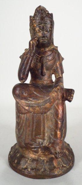 Korean figure of Bodhisattva Maitreya