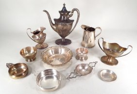 Group of Sterling Silver articles, American, 20th C.