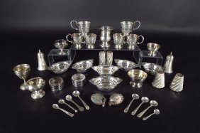Group Tiffany & Other Sterling Silver items, 20th C.
