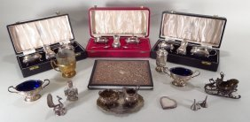 Grp Sterling Silver and Other Articles, 19th/20th C.