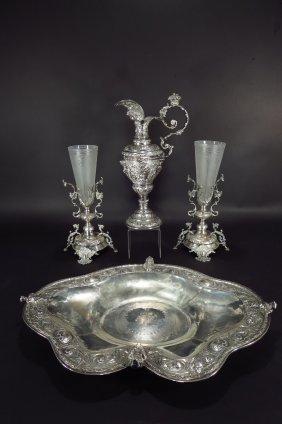 4 .833 fineness silver, Portugal/Brazil, 19th/20th C.