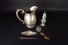 Grp Sterling Silver Articles, American, 19th/20th C.