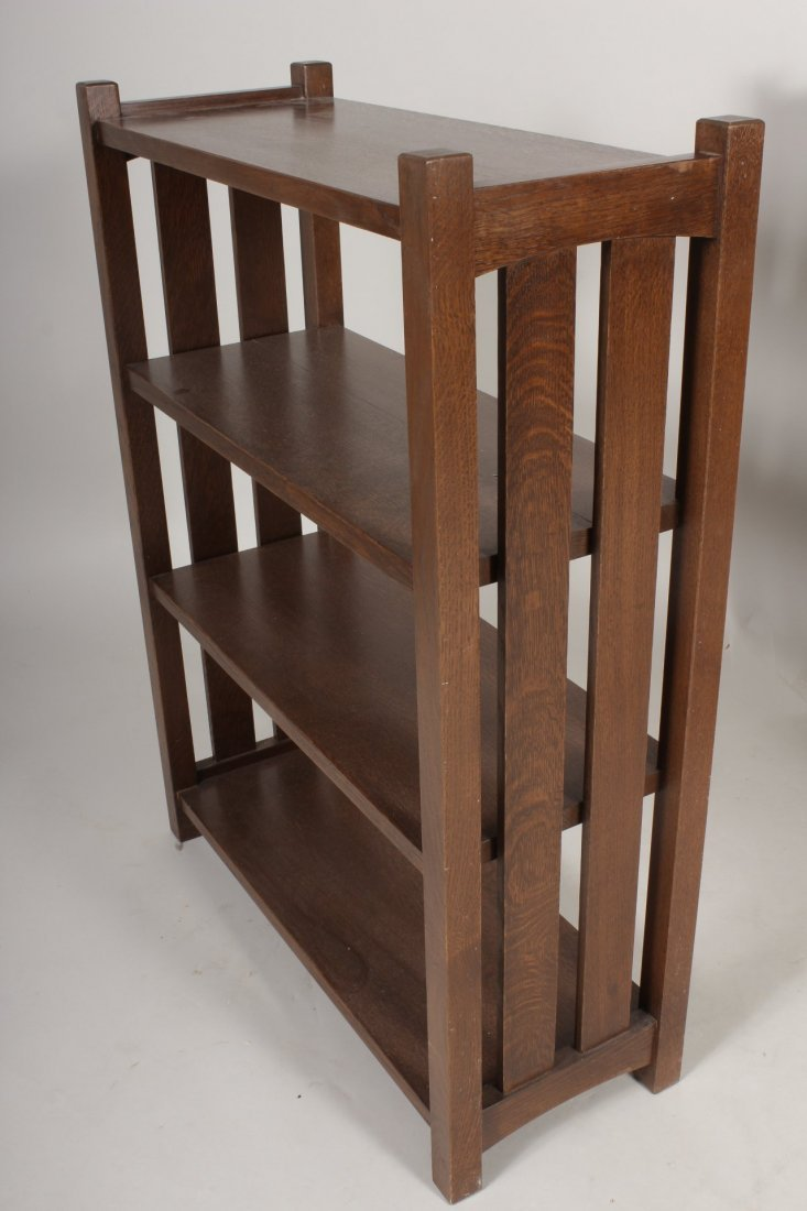 2 Arts / Crafts Stickley Style Bookcases, 20th C. - 2