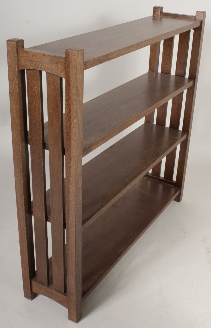 2 Arts / Crafts Stickley Style Bookcases, 20th C. - 3