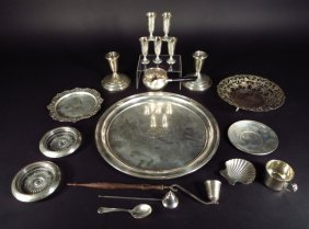 Sterling Silver Lot, American and Egyptian, 20th C