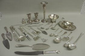 Sterling Silver Tableware 19/20th c.