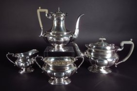 Sterling Silver Tea/Coffee Service, English