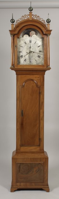 Federal Tall Case Clock by John Rogers,e.19th c.