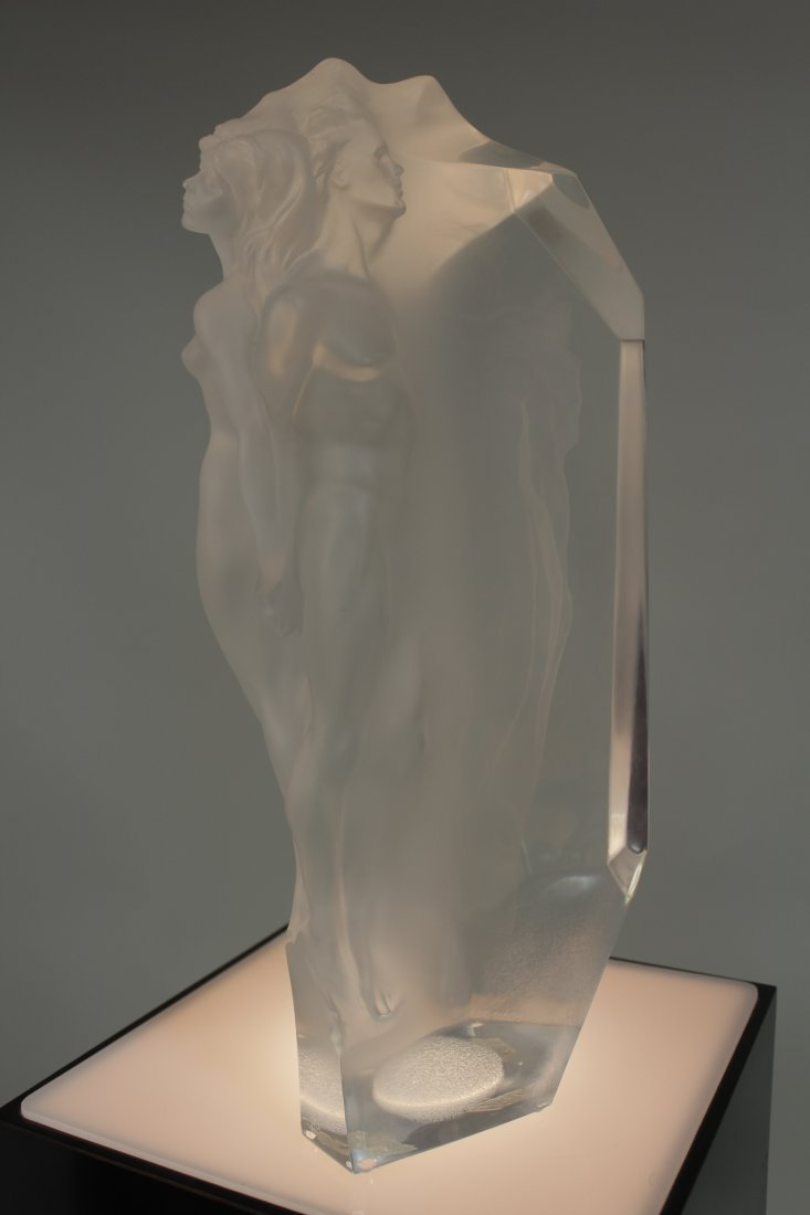 Acrylic Sculpture by Frederick Hart