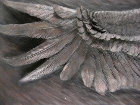 E. Juoado, Eagle in Flight, Plaque