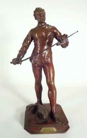"Clement Leopold Steiner, ""ESCRIMEUR Medaille D'OR"""
